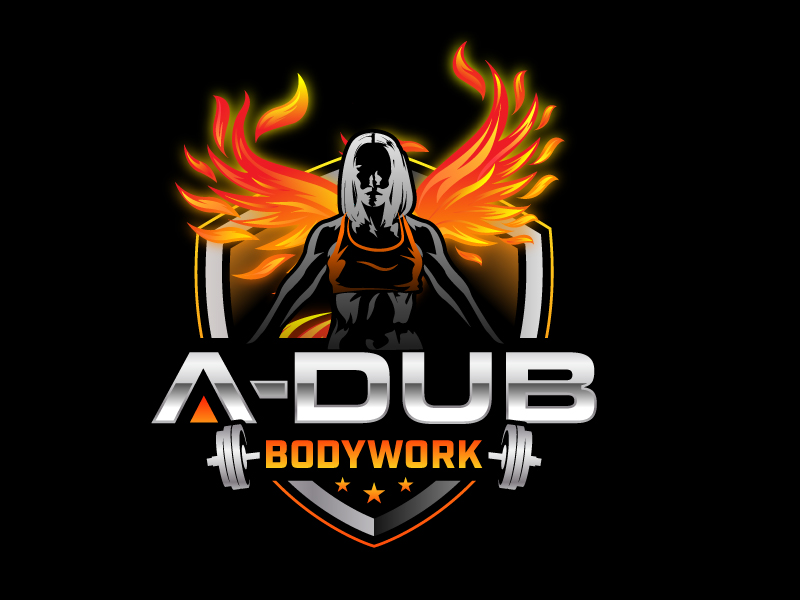 A-Dub Bodywork logo design by jaize