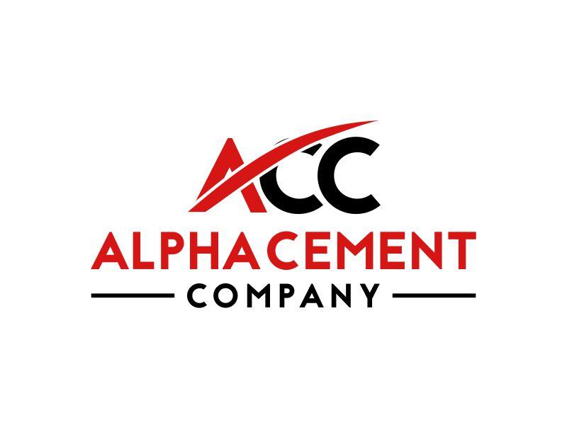 Alpha Cement Company logo design by MUNAROH
