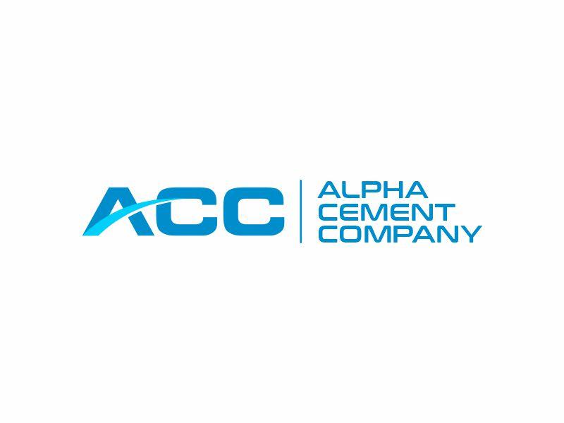 Alpha Cement Company logo design by zonpipo1