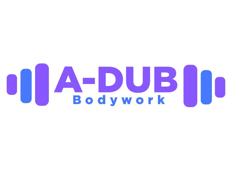 A-Dub Bodywork logo design by dollarpush
