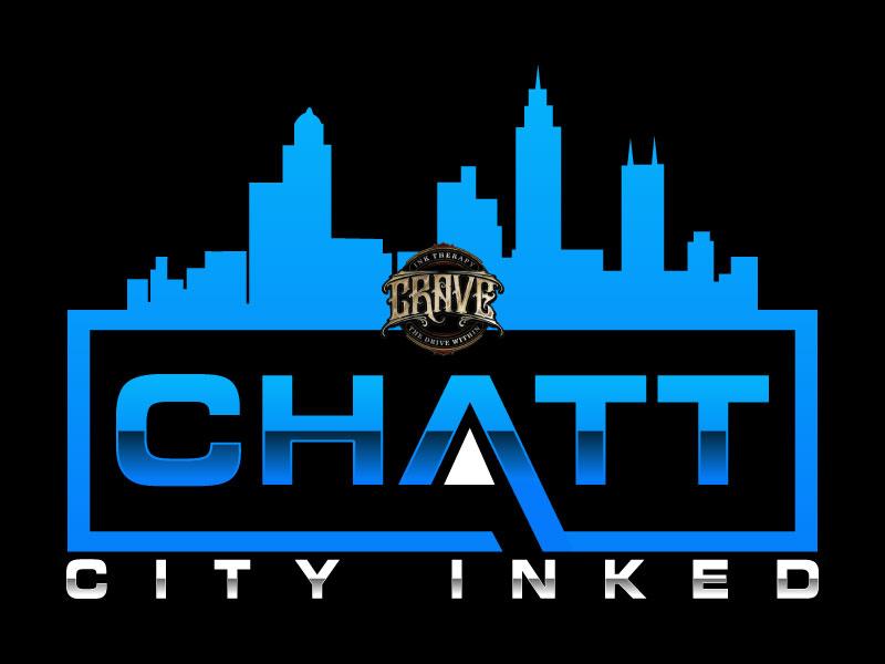Chatt City Inked logo design by Suvendu