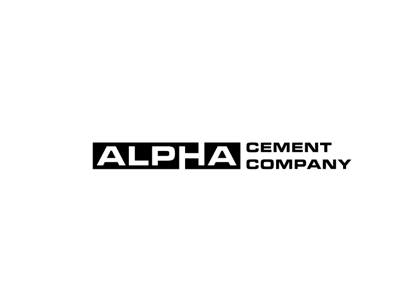 Alpha Cement Company logo design by bigboss