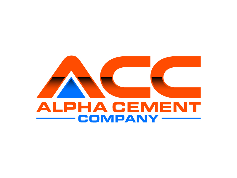 Alpha Cement Company logo design by daywalker