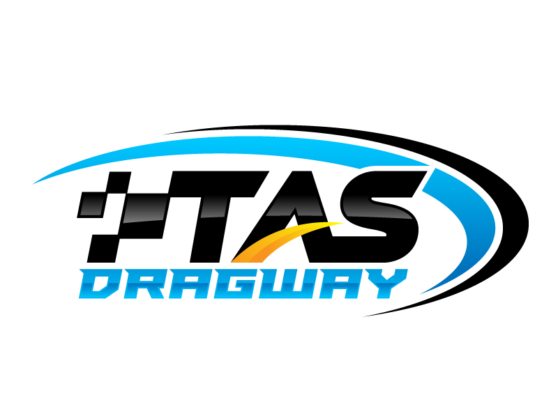 Tas dragway logo design by jaize