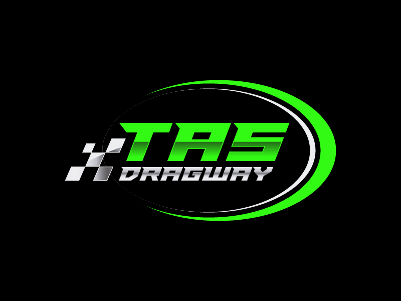 Tas dragway logo design by gateout