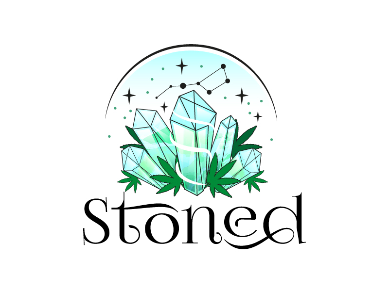 Stoned logo design by il-in