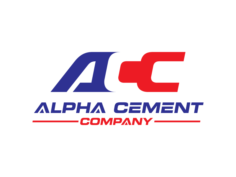 Alpha Cement Company logo design by IrvanB