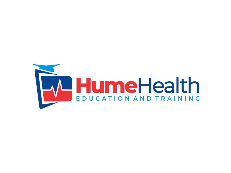 Hume Health Education and Training logo design by cikiyunn