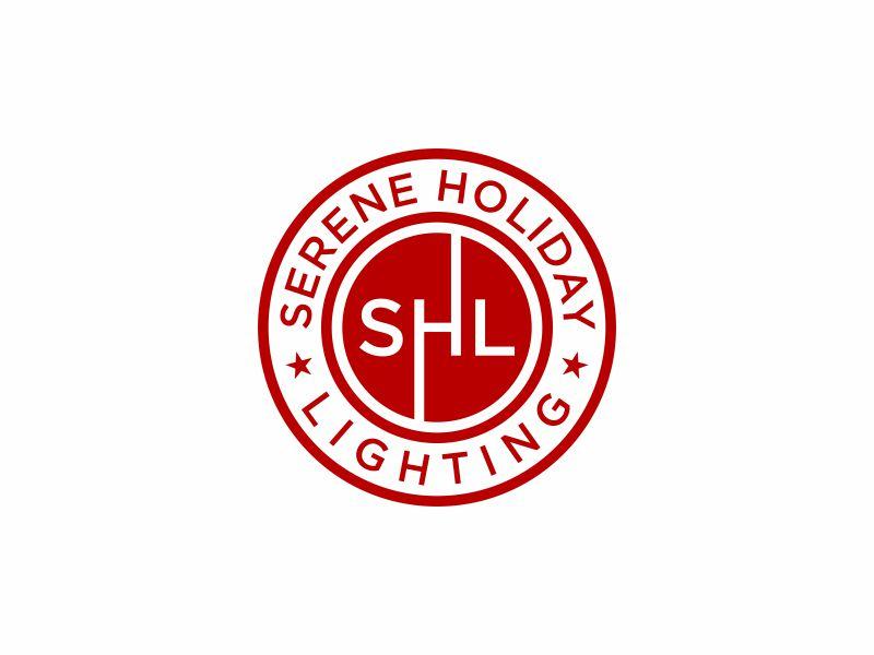Serene Holiday Lighting logo design by y7ce