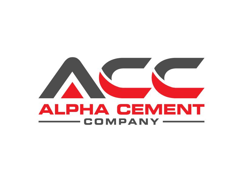 Alpha Cement Company logo design by denfransko