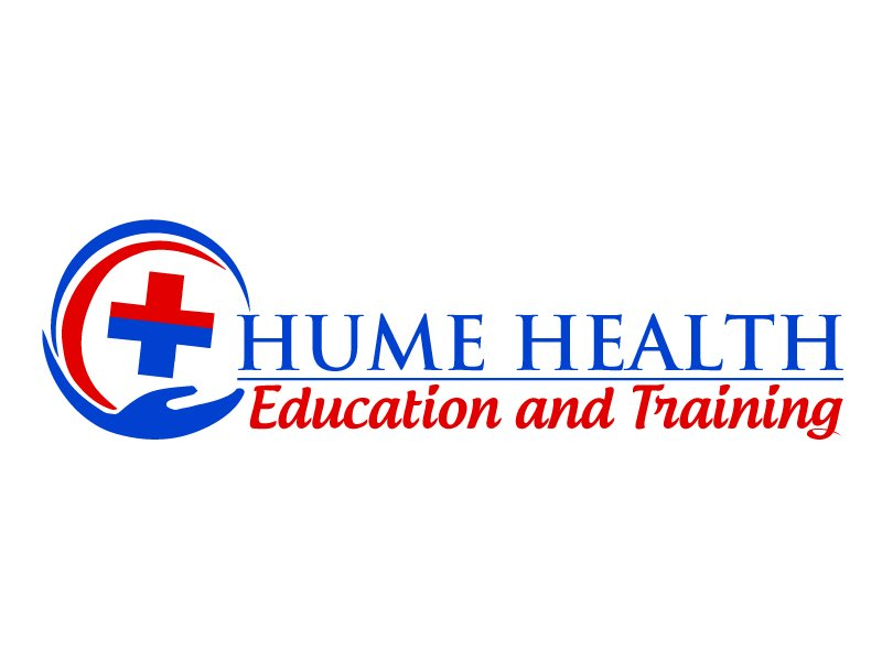 Hume Health Education and Training logo design by ElonStark