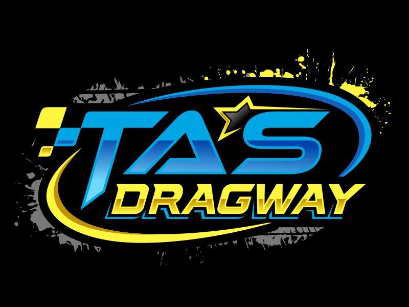 Tas dragway logo design by Gopil
