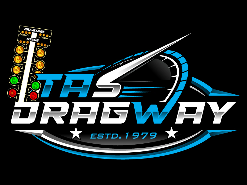 Tas dragway logo design by Suvendu