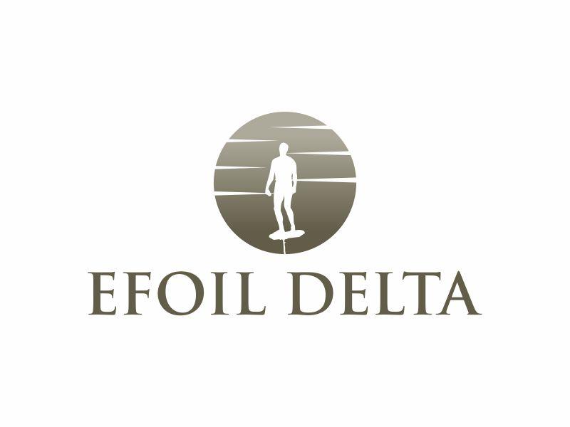 Efoil Delta logo design by y7ce