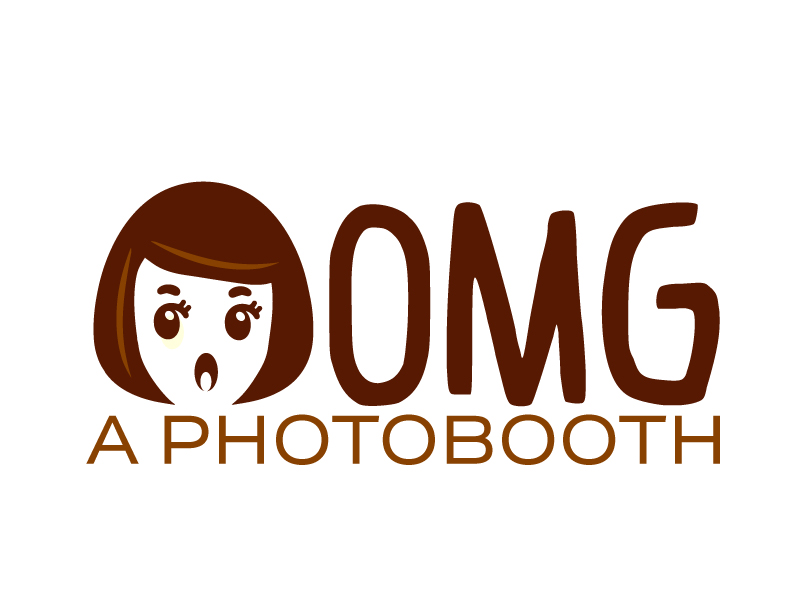 OMG! A Photobooth optional; .com logo design by ElonStark
