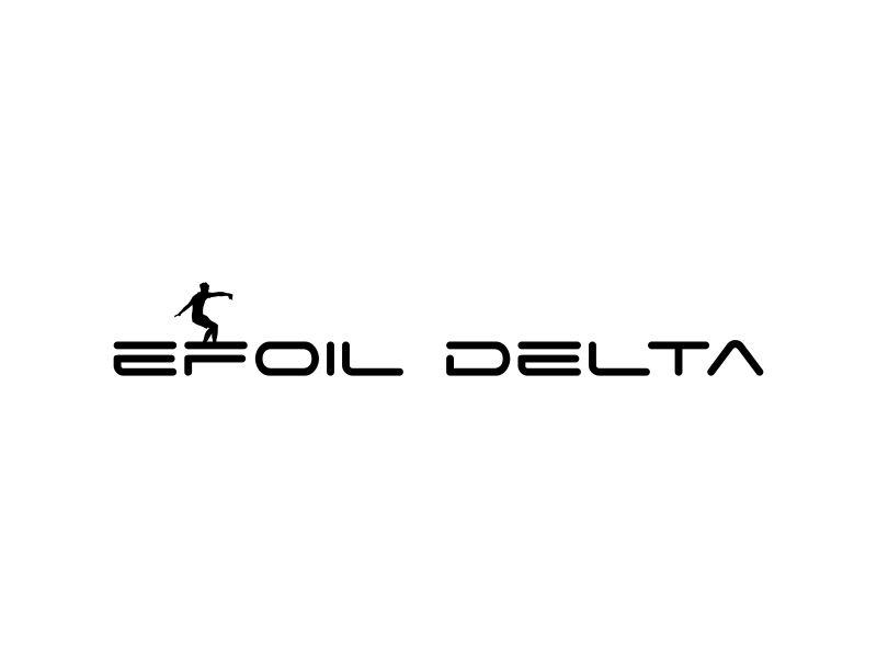 Efoil Delta logo design by Barkah