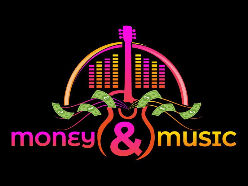 Money & Music logo design by LogoQueen