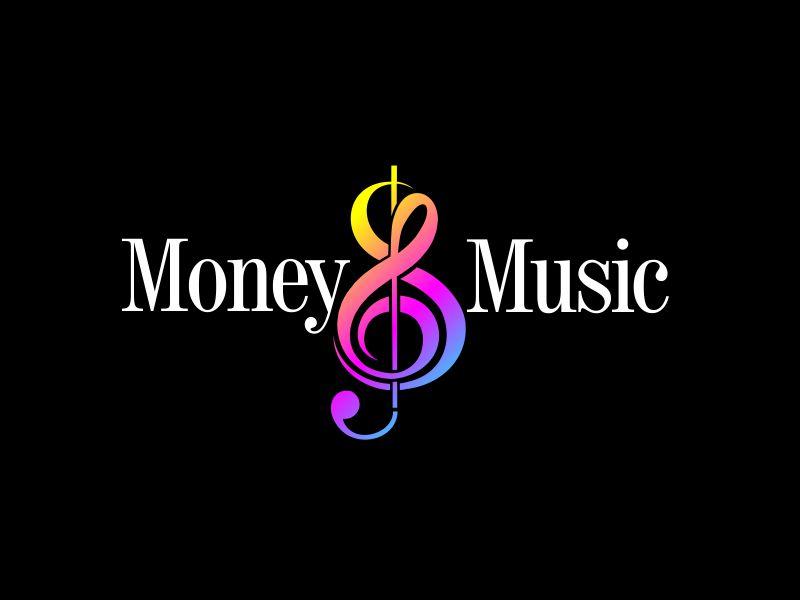 Money & Music logo design by GURUARTS