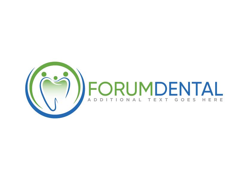 Forum Dental logo design by Erasedink