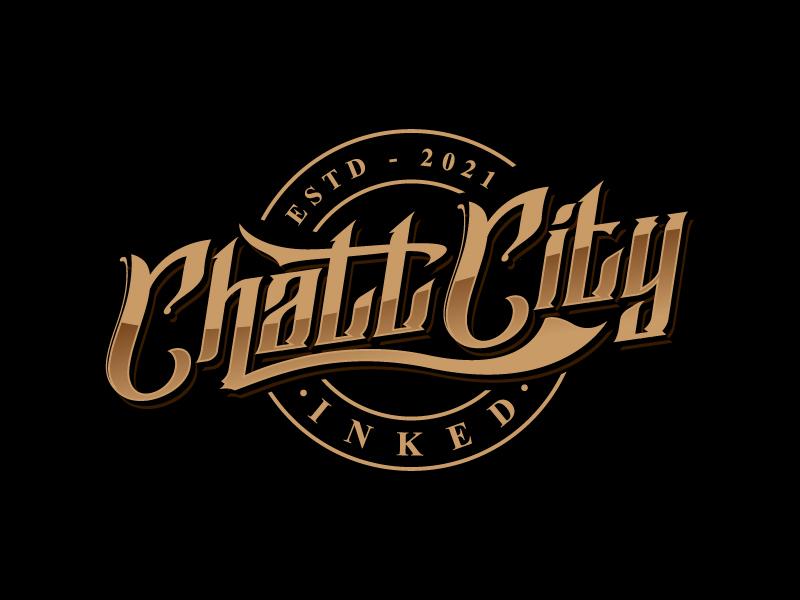 Chatt City Inked logo design by sanworks