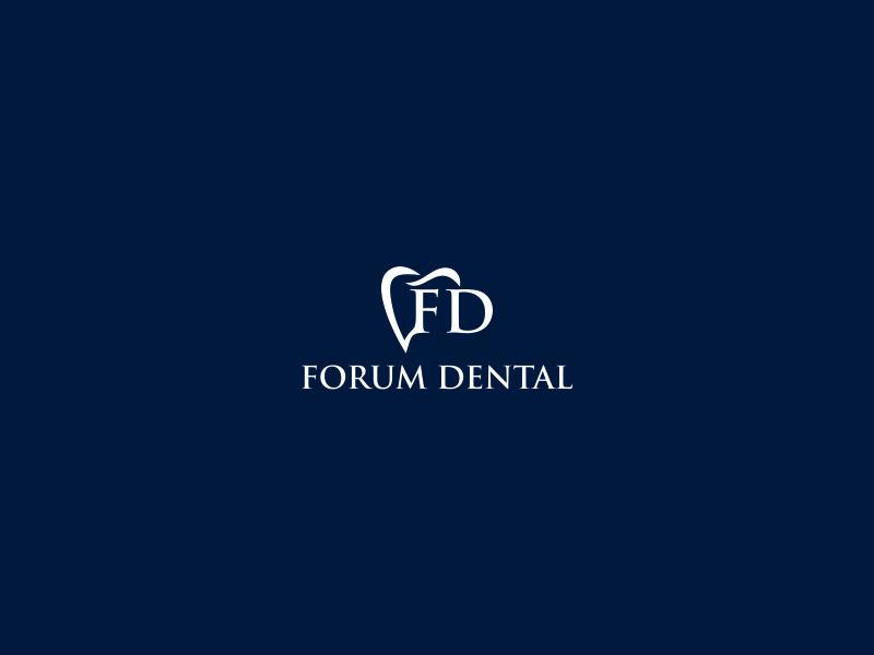Forum Dental logo design by azizah