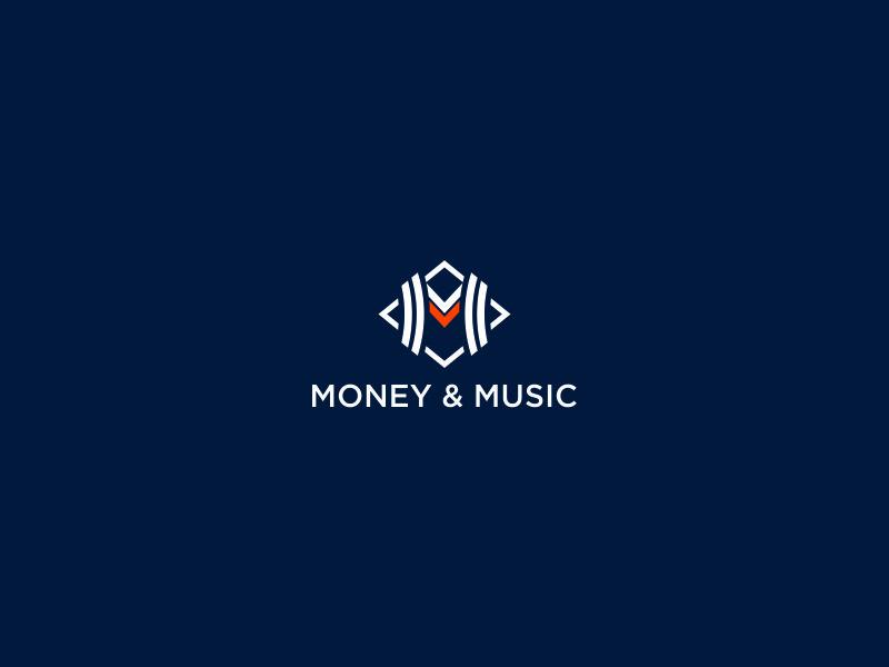 Money & Music logo design by azizah