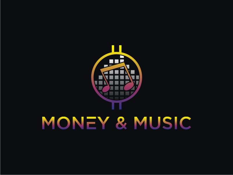 Money & Music logo design by RatuCempaka