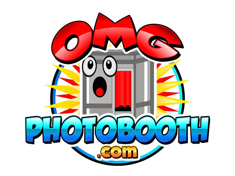 OMG! A Photobooth optional; .com logo design by Suvendu