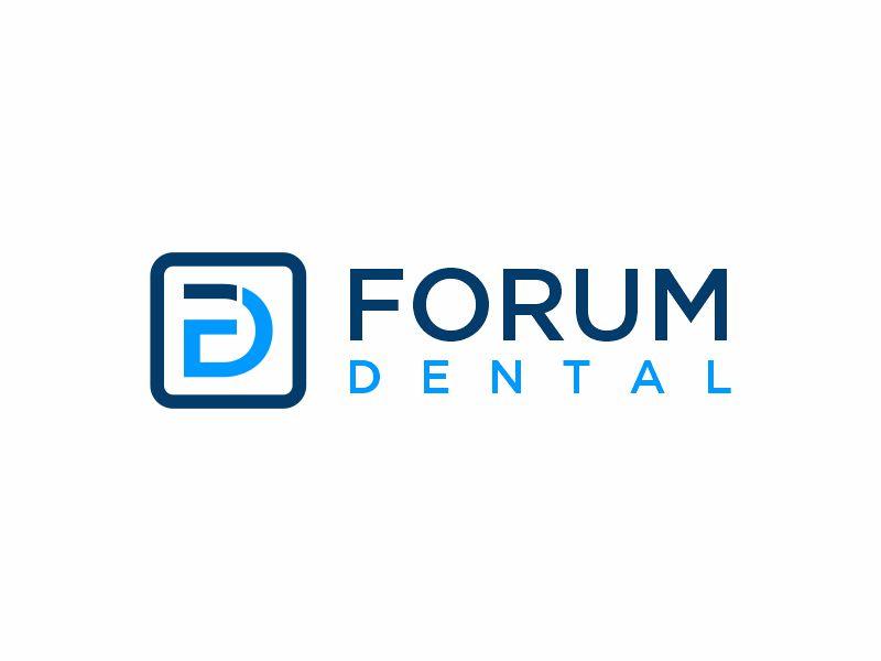 Forum Dental logo design by zonpipo1
