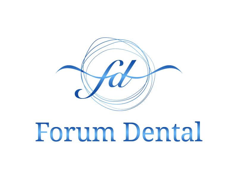 Forum Dental logo design by hwkomp