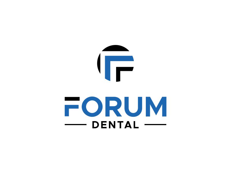 Forum Dental logo design by MUNAROH