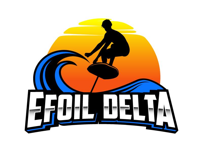Efoil Delta logo design by daywalker