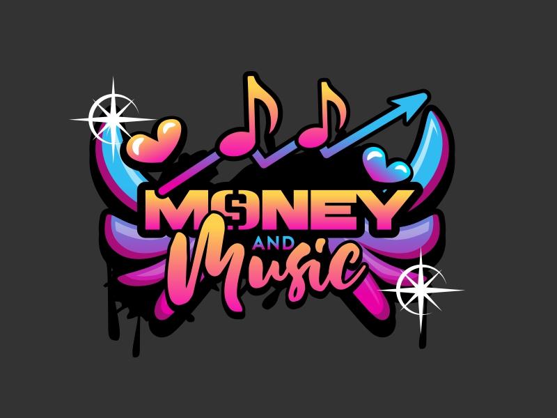 Money & Music logo design by serprimero