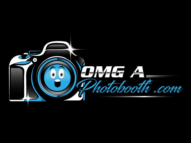 OMG! A Photobooth optional; .com logo design by Gilate P
