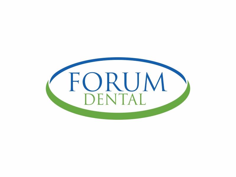 Forum Dental logo design by banaspati