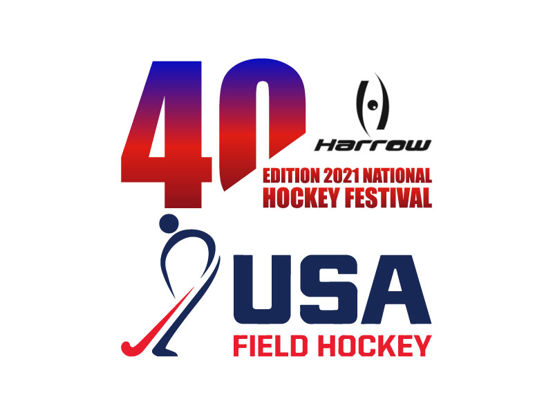 40th Edition 2021 National Hockey Festival logo design by aryamaity