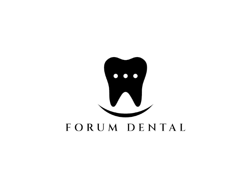 Forum Dental logo design by planoLOGO