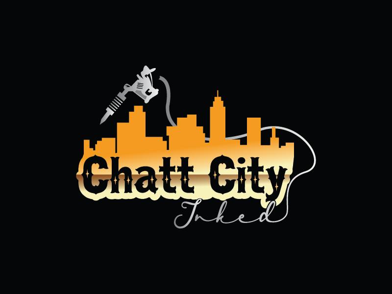 Chatt City Inked logo design by Shailesh