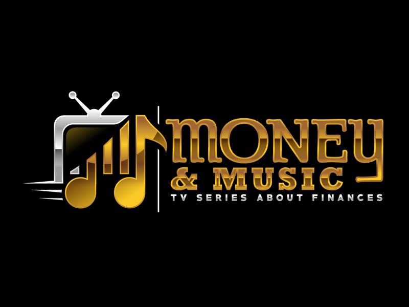Money & Music logo design by DreamLogoDesign