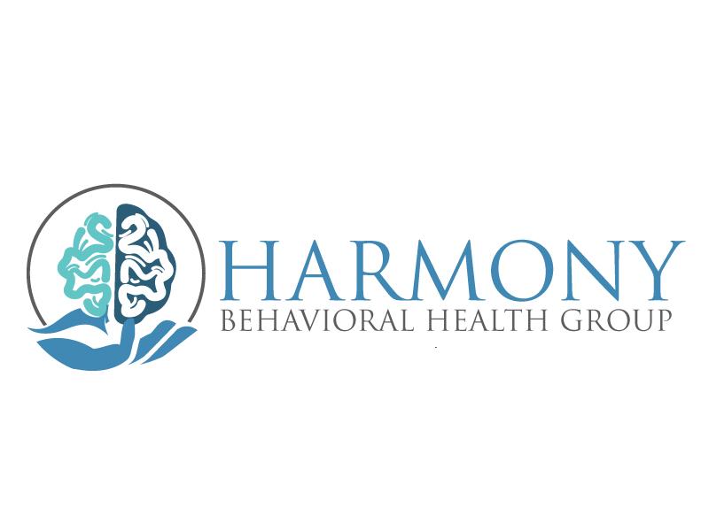 Harmony Behavioral Health Group logo design by ElonStark