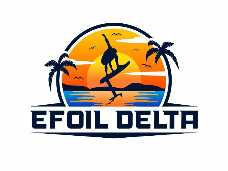 Efoil Delta logo design by alfais