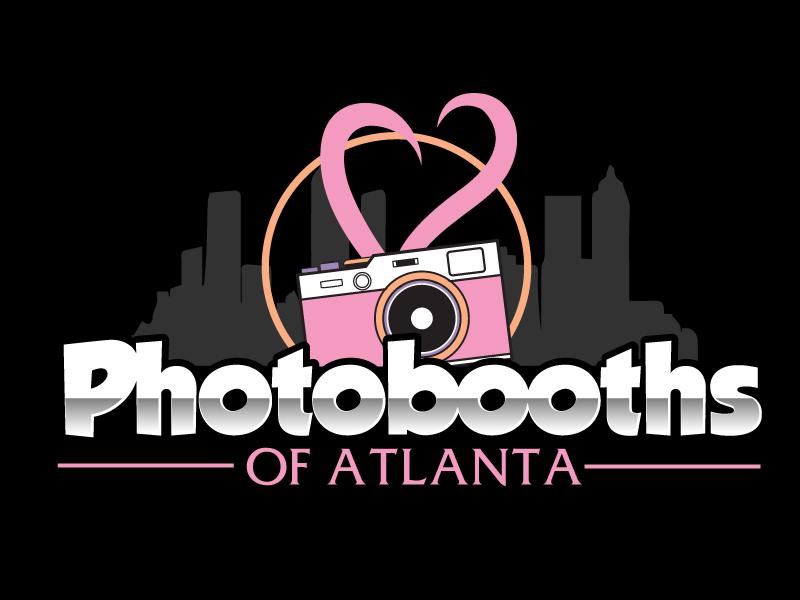 Photobooths Of Atlanta logo design by ElonStark