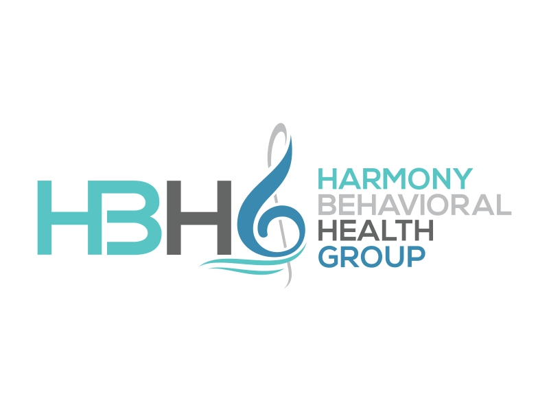 Harmony Behavioral Health Group logo design by cintoko
