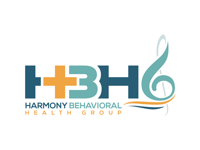 Harmony Behavioral Health Group logo design by MAXR