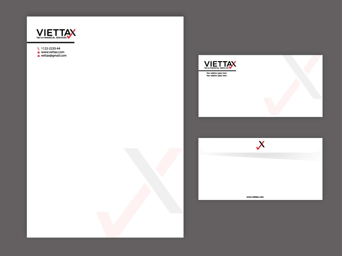 viettax New logo logo design by Sofi