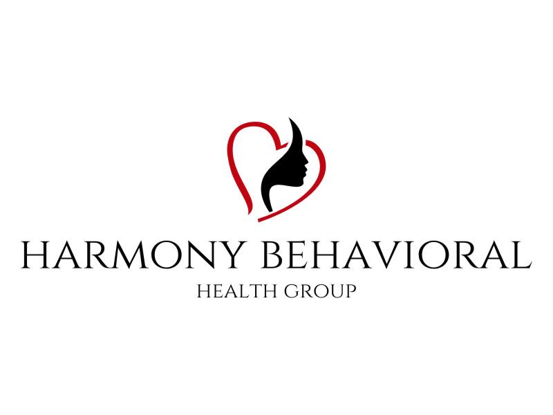Harmony Behavioral Health Group logo design by jetzu