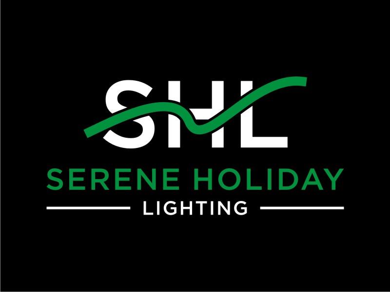Serene Holiday Lighting logo design by sabyan