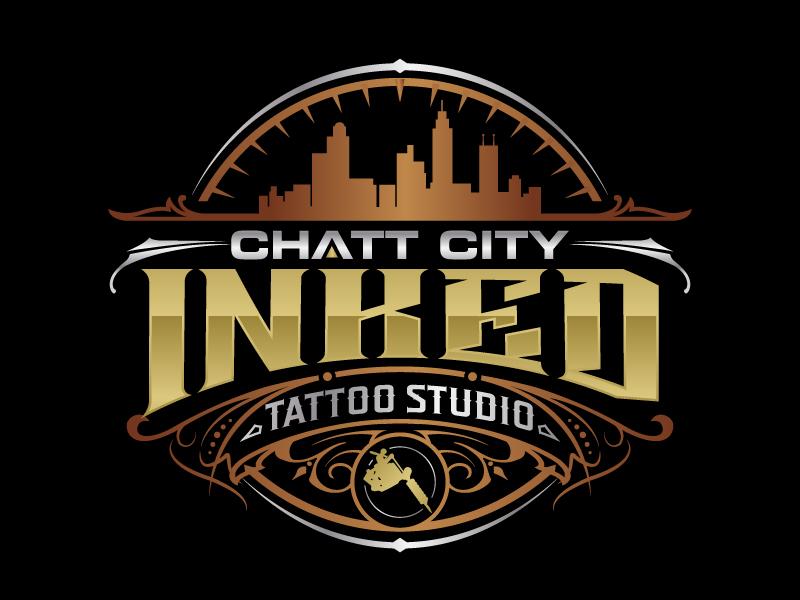 Chatt City Inked logo design by jaize