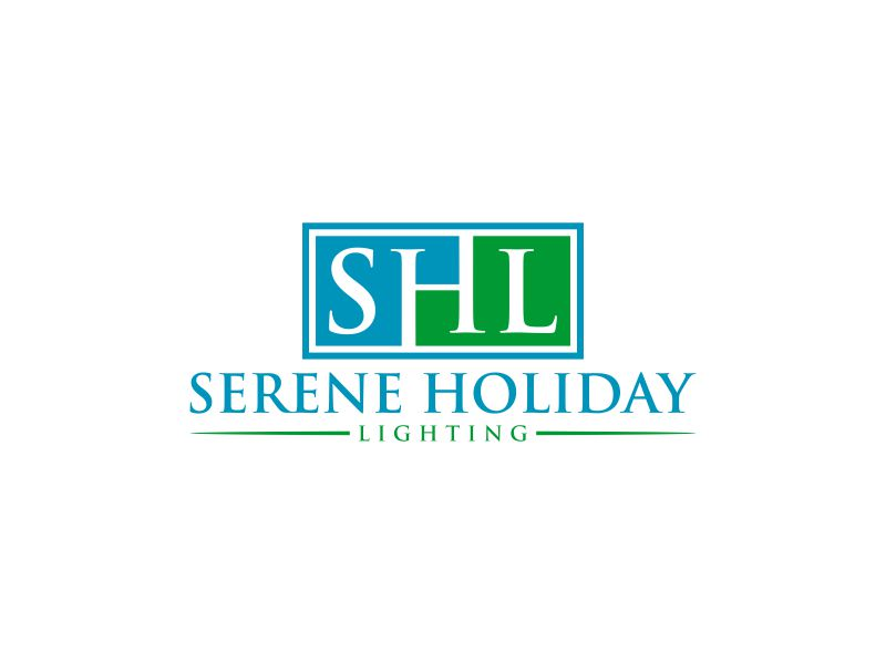 Serene Holiday Lighting logo design by Gedibal