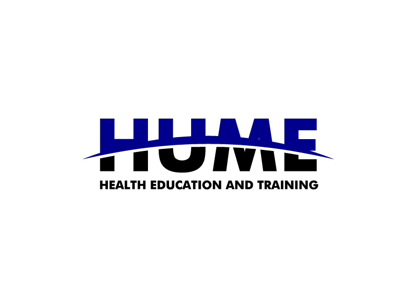 Hume Health Education and Training logo design by bigboss